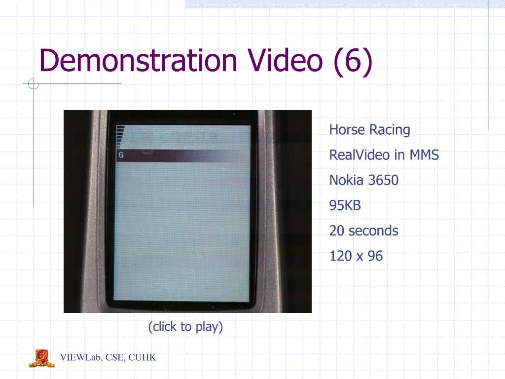 Demonstration Video (6)