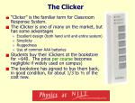 the clicker
