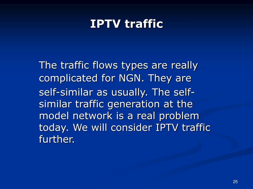 IPTV traffic