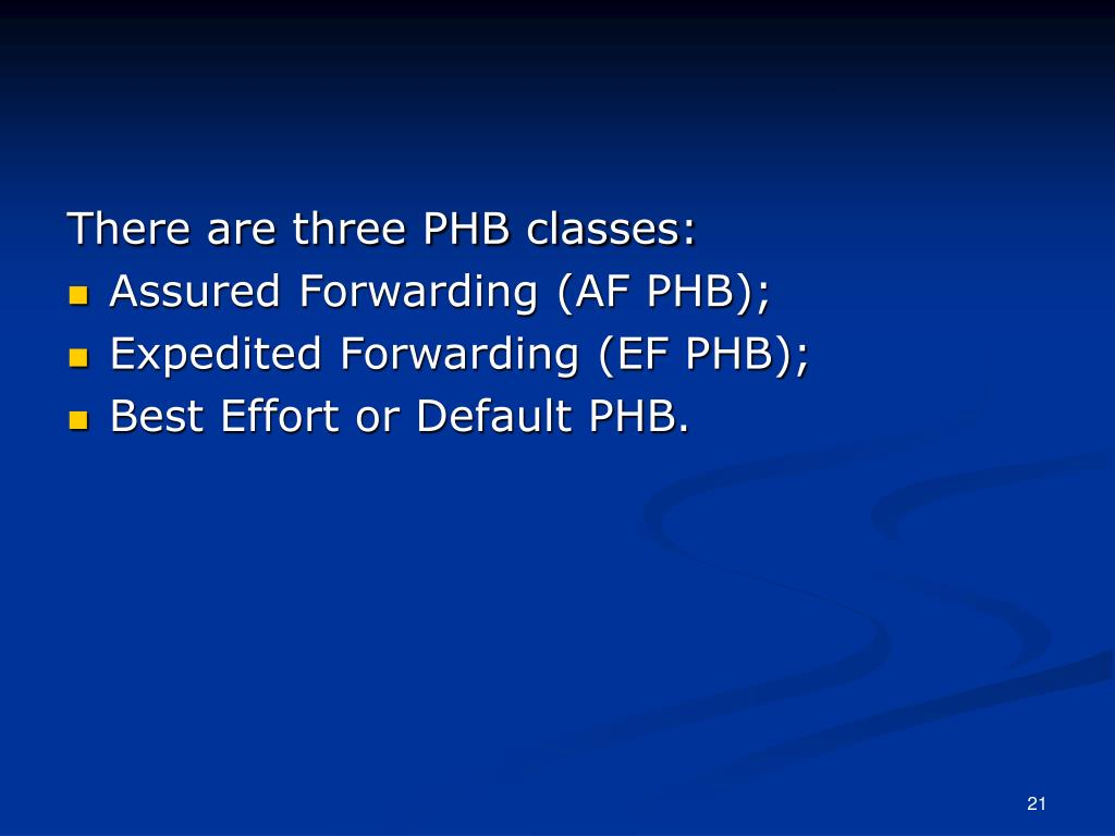 There are three PHB classes: