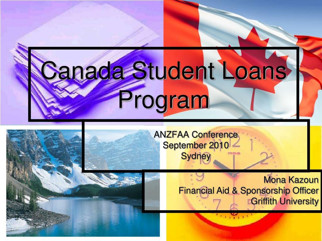 canada student loans program l.