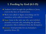 1 feeding by god 6 1 154