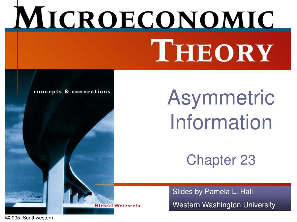 asymmetric information l.