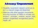 advocacy empowerment57