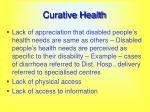 curative health