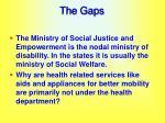 the gaps43