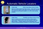 automatic vehicle locators7