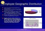 employee geographic distribution