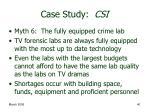 case study csi40