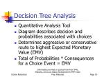 decision tree analysis