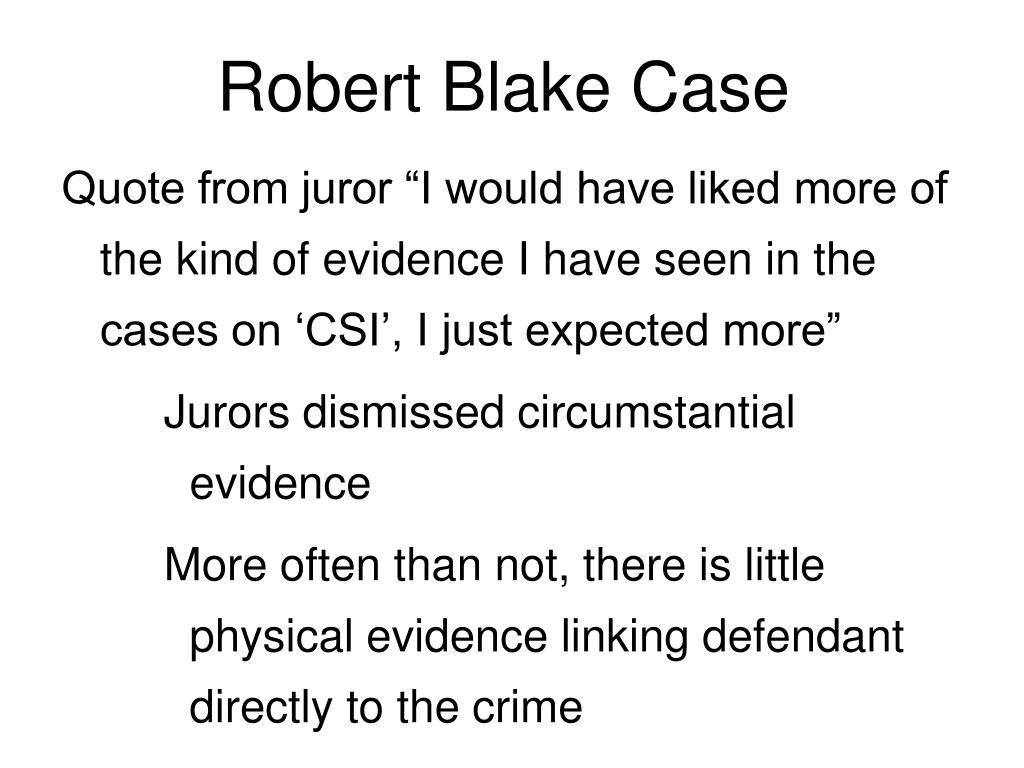 Robert Blake Case