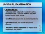 physical examination17
