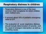 respiratory distress in children2
