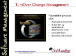 turnover change management15