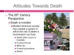 attitudes towards death