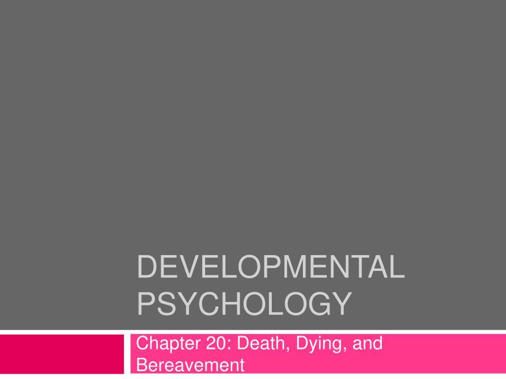 developmental psychology l.