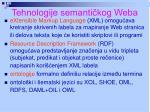 tehnologije semanti kog weba