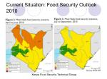current situation food security outlook 2010