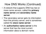 how dns works continued27