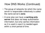 how dns works continued28