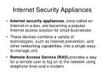 internet security appliances