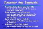 consumer age segments