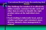 conventional retail chains reconsidering their models13
