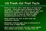 us fresh cut fruit facts