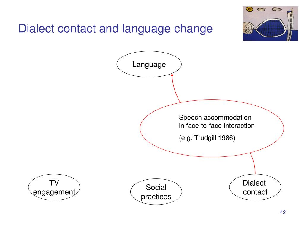 Dialect contact and language change