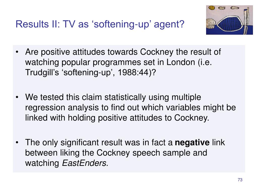 Results II: TV as 'softening-up' agent?