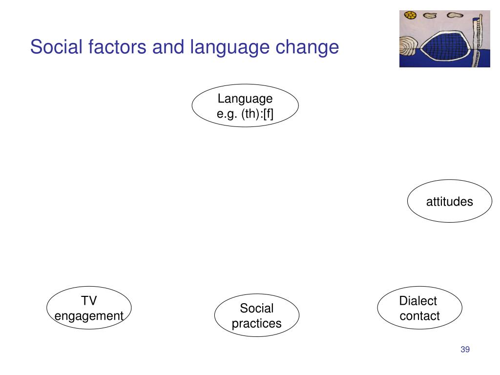 Social factors and language change