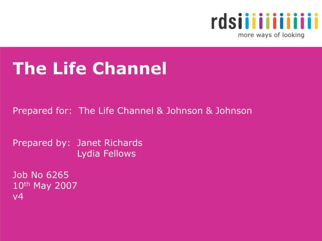 the life channel l.