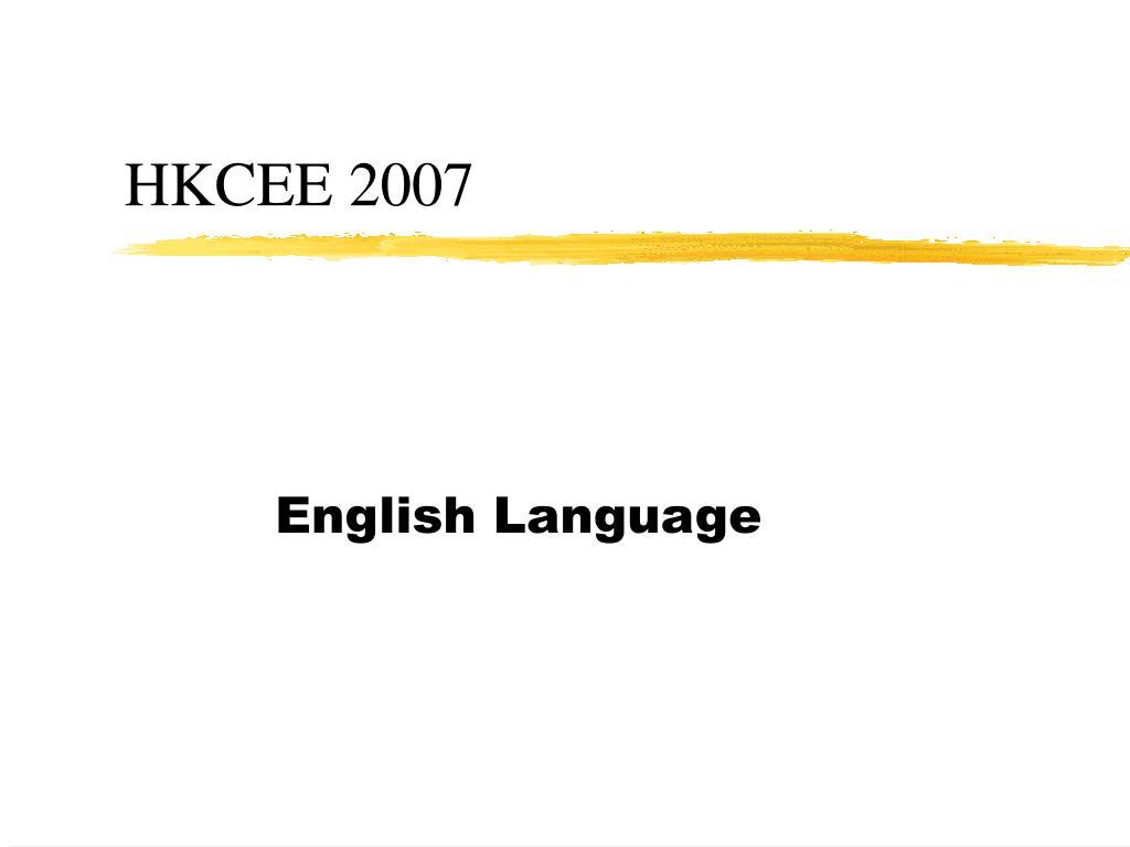 hkcee 2007 l.