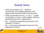 toxicity terms46