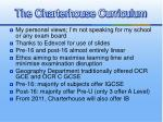 the charterhouse curriculum