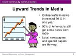 upward trends in media