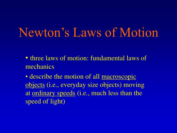 newton s laws of motion n.