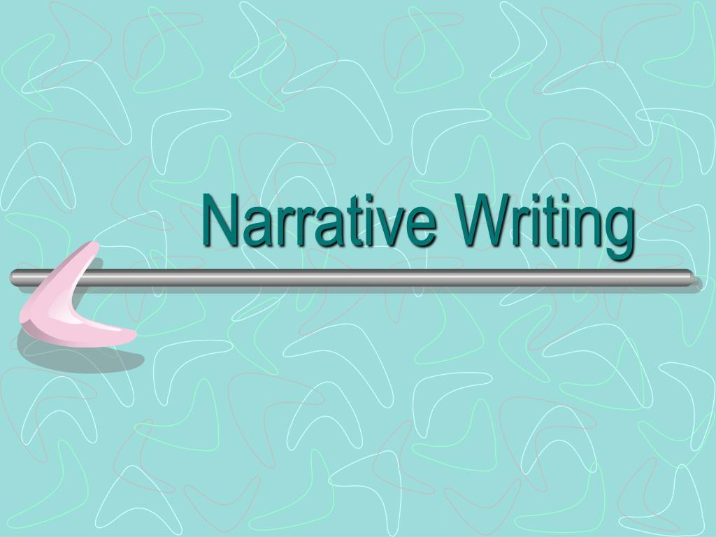 narrative writing l.