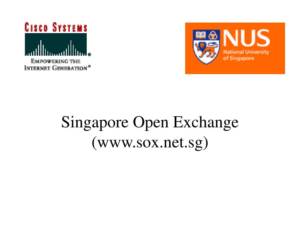 singapore open exchange www sox net sg l.