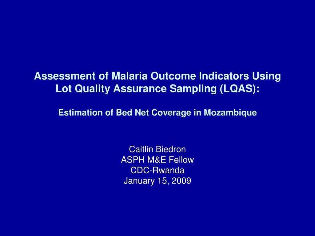 caitlin biedron asph m e fellow cdc rwanda january 15 2009 l.