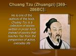 chuang tzu zhuangzi 369 286bc