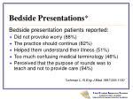 bedside presentations9