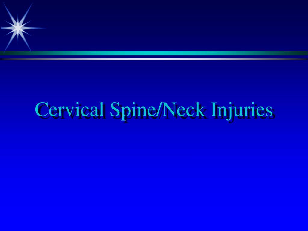 cervical spine neck injuries l.