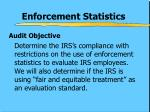enforcement statistics1