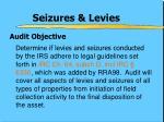 seizures levies2