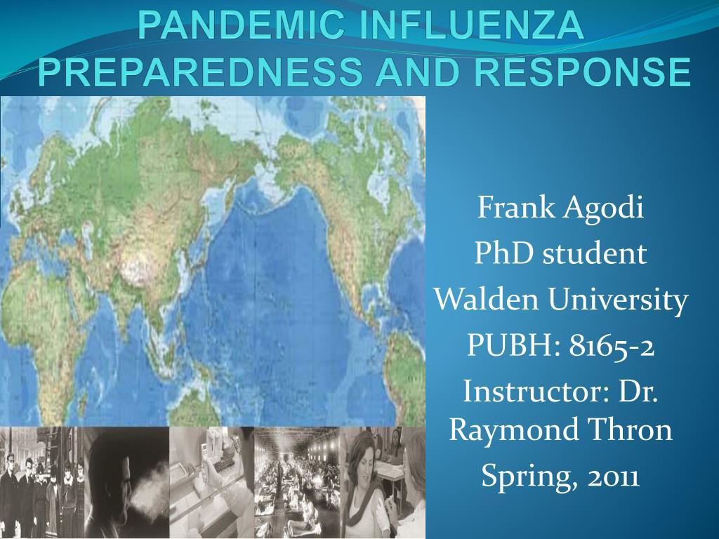 pandemic influenza preparedness and response l.