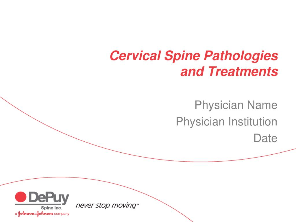 cervical spine pathologies and treatments l.