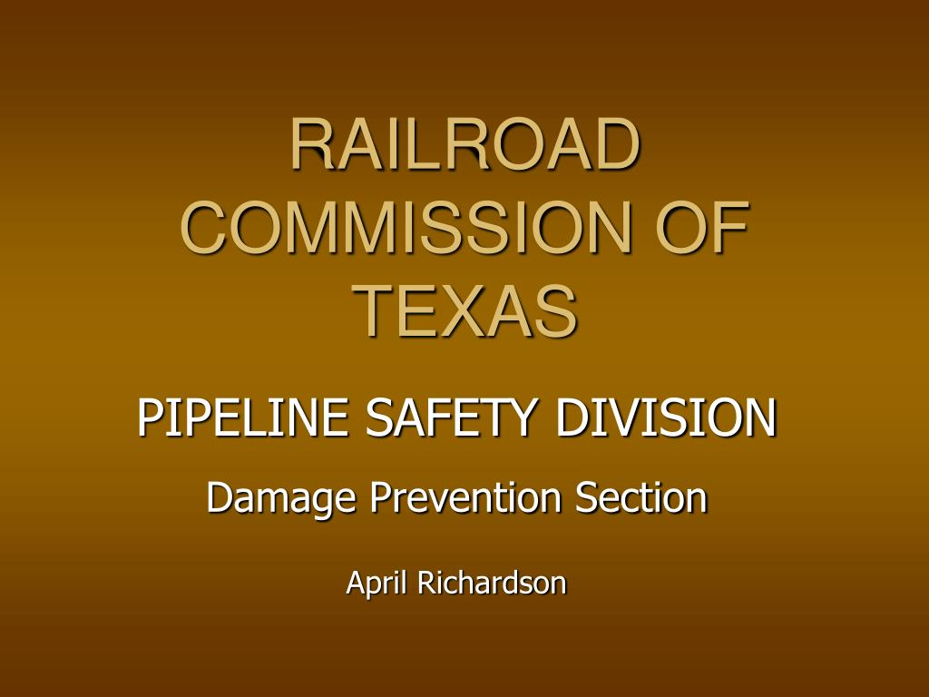 railroad commission of texas l.