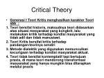 critical theory41