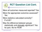 rct question list cont48